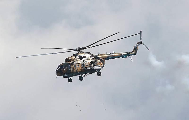 Trực thăng Mi-8 rơi gần Moscow