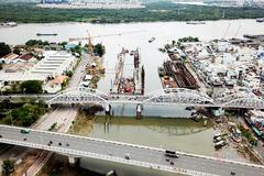 Cận cảnh cây cầu hơn 100 tuổi ở Sài Gòn chuẩn bị cấm xe ban đêm để sửa chữa
