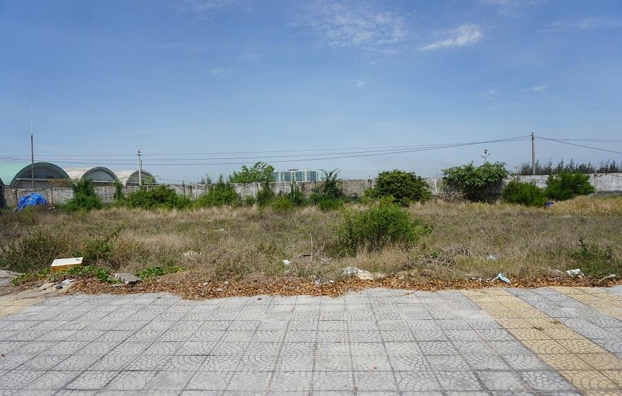 Hình thù loạt đất có yếu tố Trung Quốc dọc khu đô thị ven biển Đà Nẵng