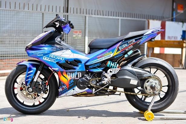 Yamaha Exciter bản độ hầm hố của biker TP.HCM, chi phí 250 triệu đồng