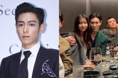 T.O.P nhóm Big Bang thân mật cùng nữ diễn viên kém 10 tuổi
