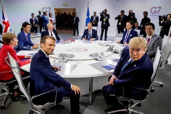 Ông Trump cân nhắc tổ chức họp G-7 trực tiếp