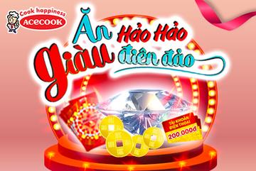 Hơn 12.000 người trúng thưởng 'Ăn Hảo Hảo, giàu điên đảo'
