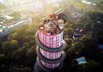 Ngôi đền có 1-0-2 ở Thái Lan, được bao quanh bởi một con rồng khổng lồ