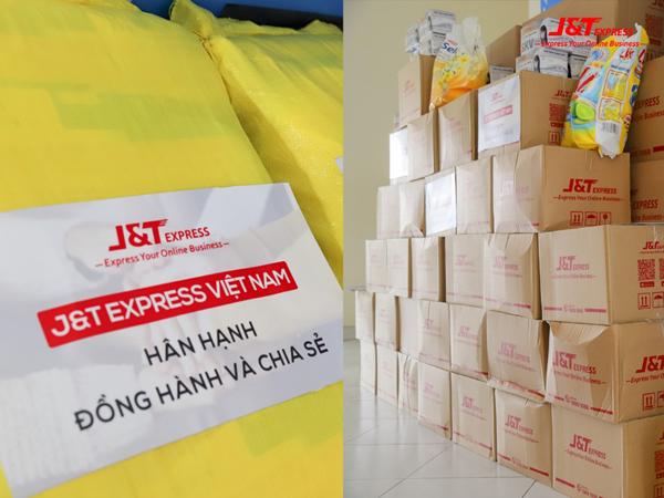 J&T Express tặng nhu yếu phẩm cho Trung tâm bảo trợ người bại liệt Thạnh Lộc