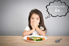 Chuyên gia tiêu hóa tư vấn khắc phục chứng biếng ăn ở trẻ
