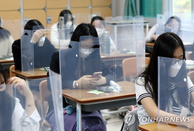 Mở cửa một ngày, trường học Hàn Quốc lại đóng cửa vì HS mắc Covid-19