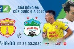Link xem Nam Định vs HAGL, 18h00 ngày 23/5