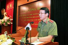 Tướng Lương Tam Quang đứng đầu Cơ quan An ninh điều tra Bộ Công an