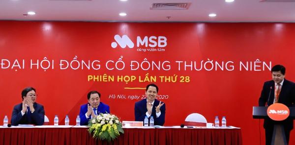 2020, MSB nhắm đích lợi nhuận 1.439 tỷ đồng