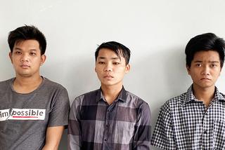 3 kẻ hiếp dâm cô gái 32 tuổi và gây ra hàng loạt vụ cướp