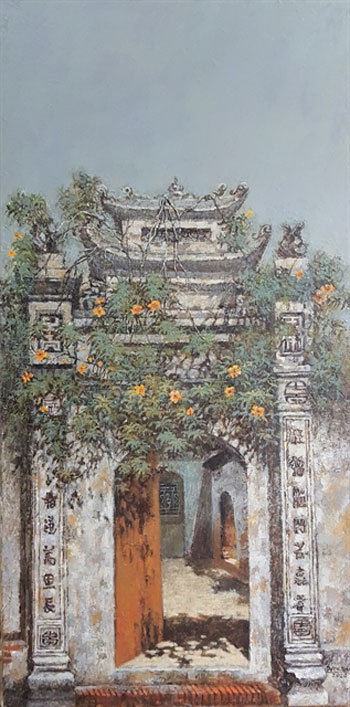 Hanoi exhibition shows the beauty of old northern village