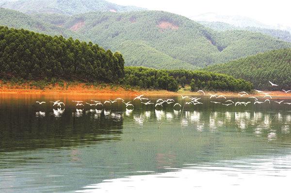 Peaceful charm ofThac Ba Lake