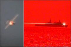 Lộ diện siêu vũ khí laser của Hải quân Mỹ