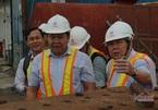Chủ tịch TP.HCM thị sát dự án chống ngập 10.000 tỷ
