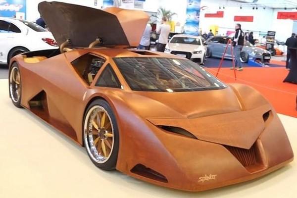 Bên trong siêu xe Bugatti thân gỗ với công suất 600 mã lực
