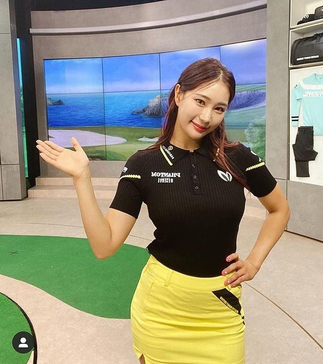 Nữ golf thủ muốn fan bớt chú tâm đến ngoại hình gợi cảm