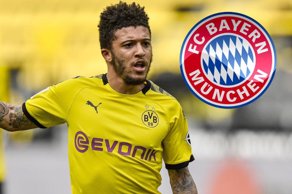 MU lo sốt vó khi Bayern Munich tiếp cận Sancho