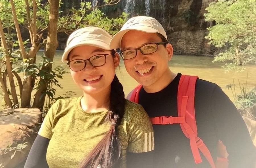 Chồng Việt qua đời ở Singapore và lời nhắn của người vợ trẻ