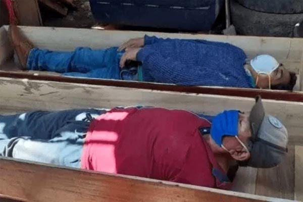 Thị trưởng giả chết để tránh bị bắt vì vi phạm lệnh chống Covid-19