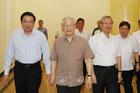 Tổng bí thư chủ trì họp Thường trực BCĐ TƯ về phòng chống tham nhũng