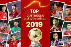 Trực tiếp lễ trao giải Quả bóng vàng Việt Nam 2019