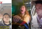 """Rộ  """"mốt"""" vừa lái xe vừa livestream của tài xế Việt"""