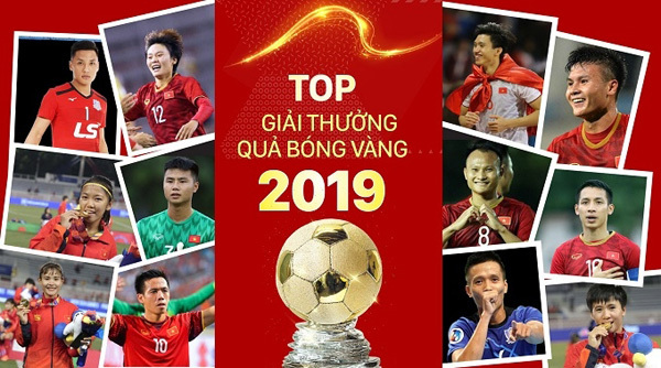Vietnam Golden Ball Awards 2019: Waiting for the best players to be honoured