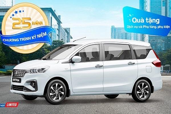 Cơ hội vàng mua ôtô tháng 5: Suzuki ưu đãi hấp dẫn