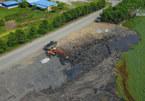Hải Dương vào cuộc, đơn vị xả tro thải đốt rác vội xóa hiện trường