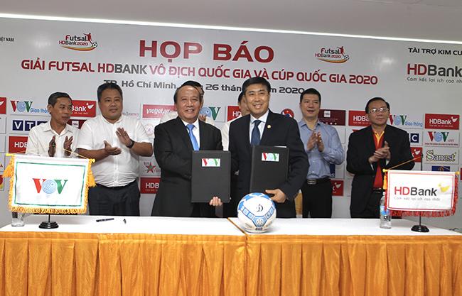 Giải futsal HDBank VĐQG 2020: Nửa tỷ đồng cho chức vô địch