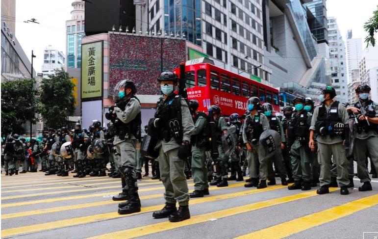 Ông Trump tuyên bố phản ứng cứng rắn với Trung Quốc vì Hong Kong