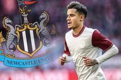 """Newcastle tiền """"đè"""" Arsenal và MU để chiêu mộ Coutinho"""