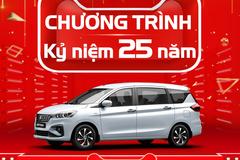 Suzuki Việt Nam: Kỷ niệm 25 năm tặng quà 25 triệu