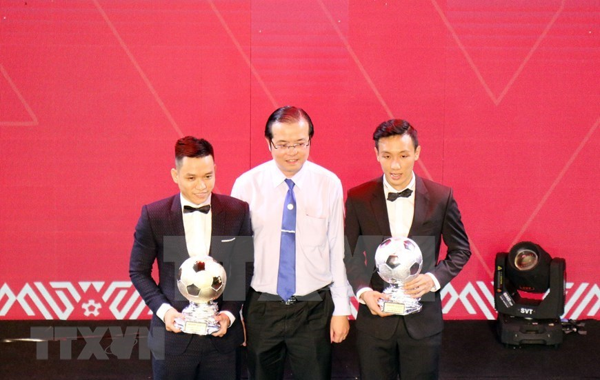 Midfielder, striker win Golden Ball awards