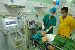 Người đàn ông Tuyên Quang bị chém rách phổi, lìa 3 xương sườn