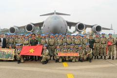 Việt Nam tham gia gìn giữ hòa bình thể hiện trách nhiệm với quốc tế