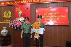 Bộ Công an có tân Cục trưởng Cục An ninh chính trị nội bộ