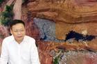 Rác ngồn ngộn chôn trên núi, Phó Chủ tịch Vĩnh Yên thông tin điều nghịch lý