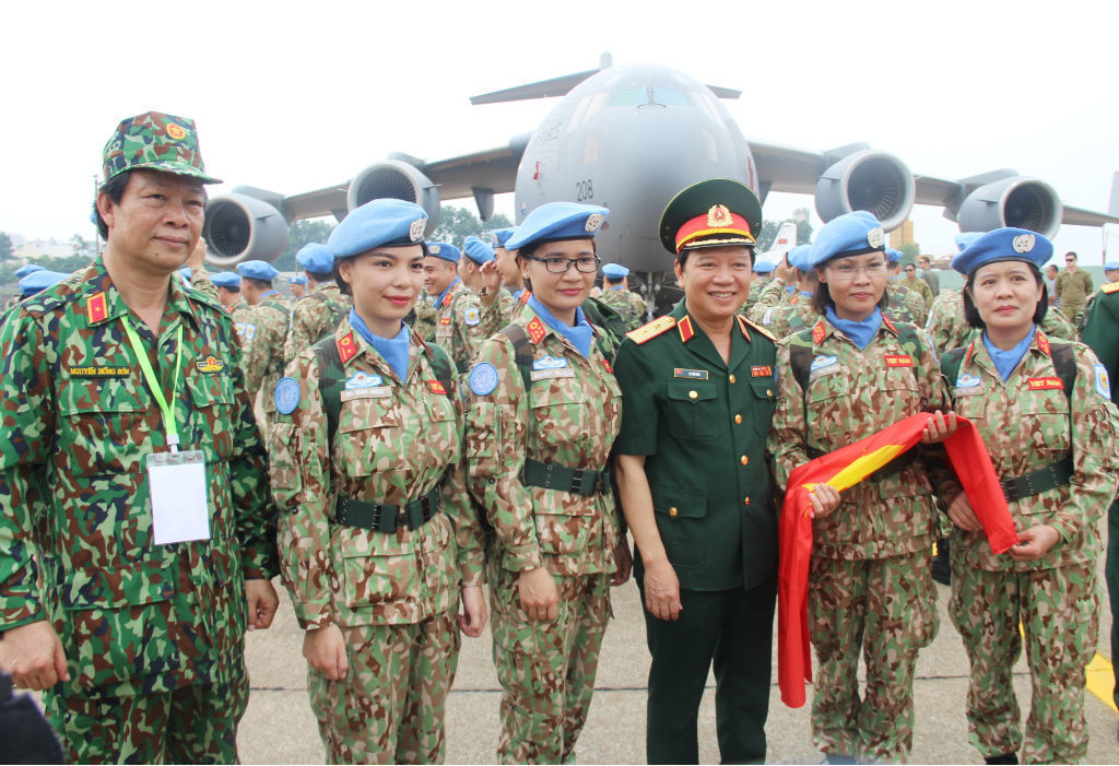 VN's participation in UN peacekeeping forces shows its responsibility to the world