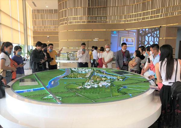 Cộng đồng thịnh vượng ở 'thành phố bên sông' Waterpoint