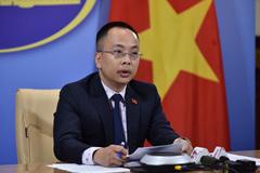 Phản ứng của Việt Nam về việc Trung Quốc thu hoạch rau ở Hoàng Sa