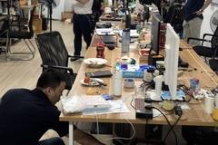 Phá đường dây đánh bạc 64 nghìn tỷ ở Hà Nội