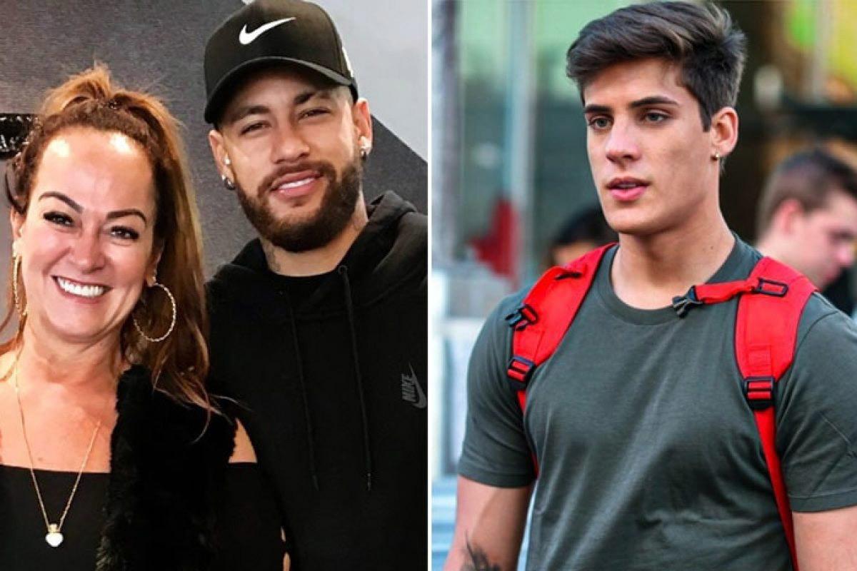 Mẹ ruột Neymar làm lành với bạn trai 22 tuổi