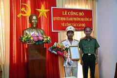 Bổ nhiệm, điều động 8 vị trí lãnh đạo tại Công an Tiền Giang