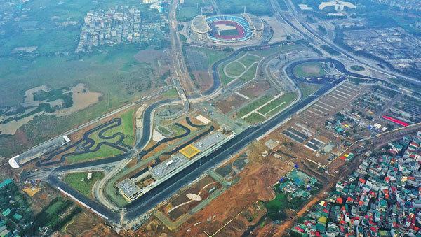 Hanoi's F1 may be held in November