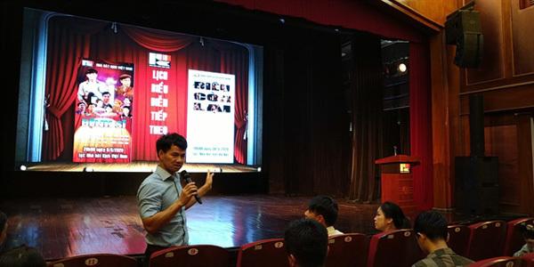 Drama about post-war time,the playĐiềuCònLại,staged,playwright Luu Quang Vu