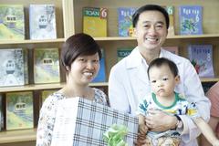Mẹ con Bình An sau 1 năm thực hiện ca mổ ngồi bắt thai