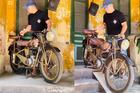 """Ngưỡng mộ gia tài xe máy cổ của """"đại gia"""" Tú xiếc mô tô"""