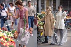 Bức ảnh mẹ xách con đi chợ bất ngờ nổi tiếng sau 33 năm chụp